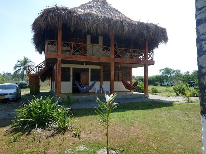 Cabaña La Veranera, cuarto privado #1 segundo piso