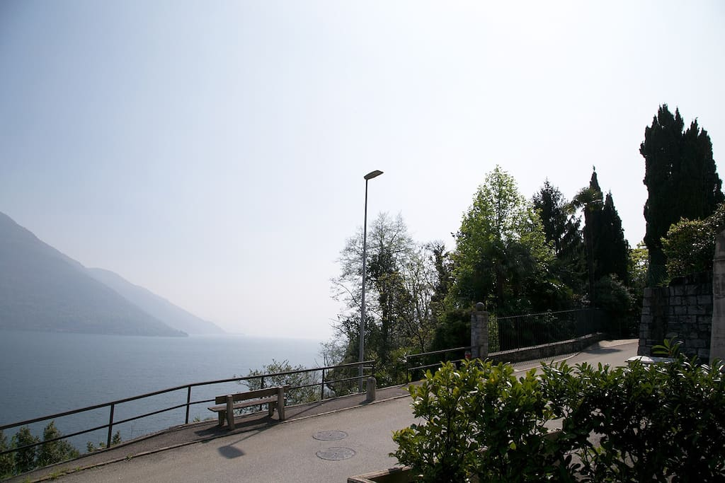 Blick Richtung Italien