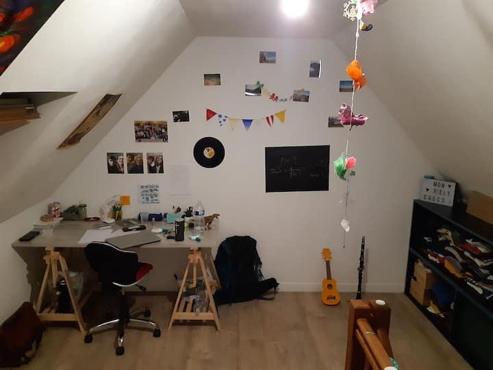 Chambre dans amiénoise au centre d'Amiens st leu