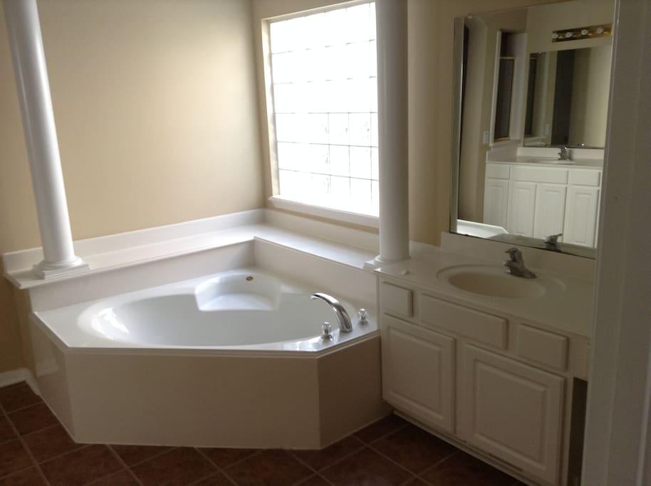 Master Room 1 Tub
