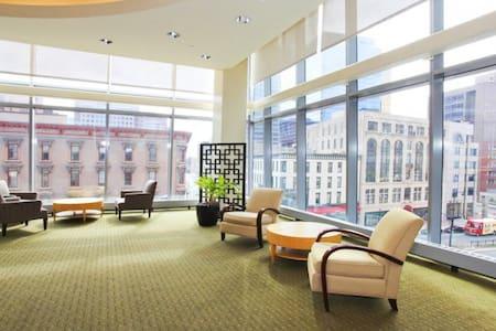 Beautiful master bedroom at Hartford on 26th Floor - Hartford