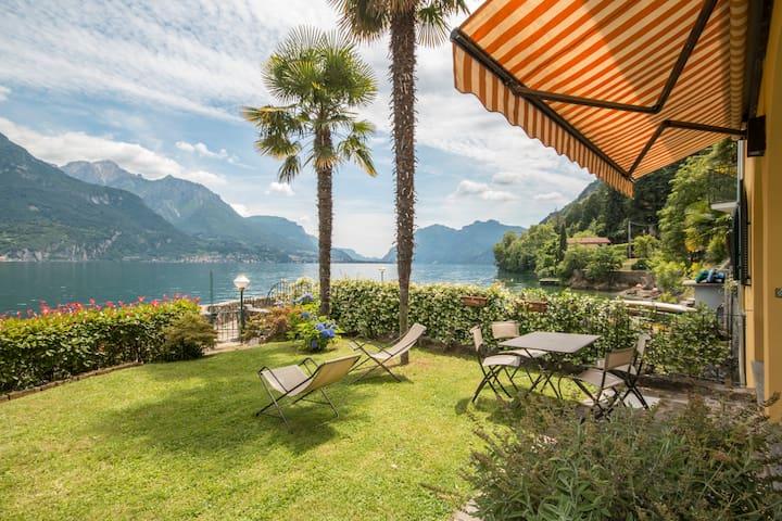 Una terrazza nel lago! - Limonta - Apartment