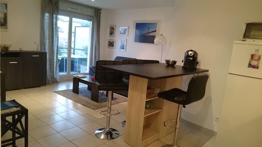 Appartement dans résidence avec piscine - Villefranche-sur-Saone - Apartment
