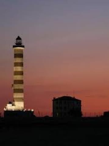 The lighthouse of Jesolo (near the apartment)