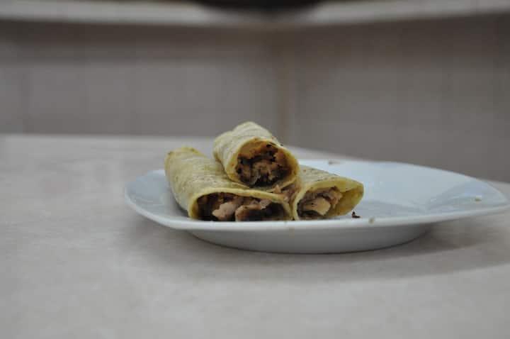 Degustaremos Ricos Tacos toda la noche