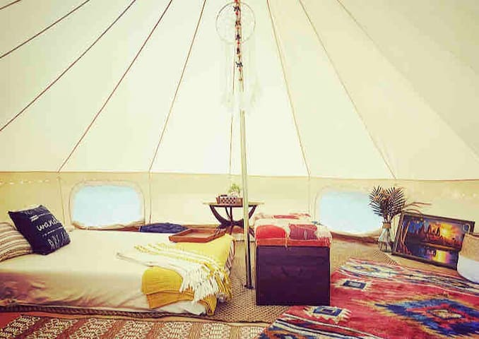 "NEW! ""Fern"" the Glamping Tent"
