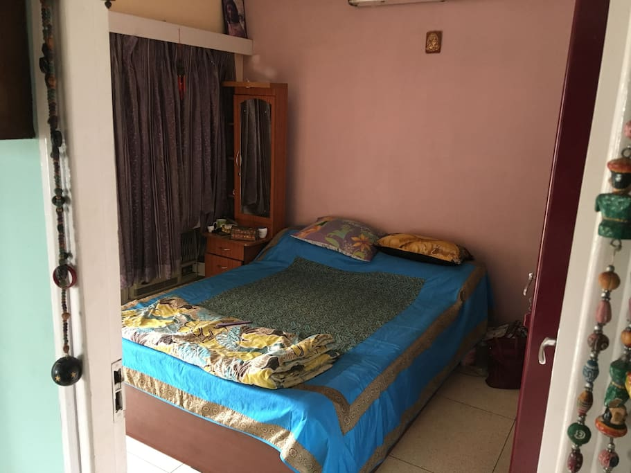 Room with Queen Size Double Bed and Verandah