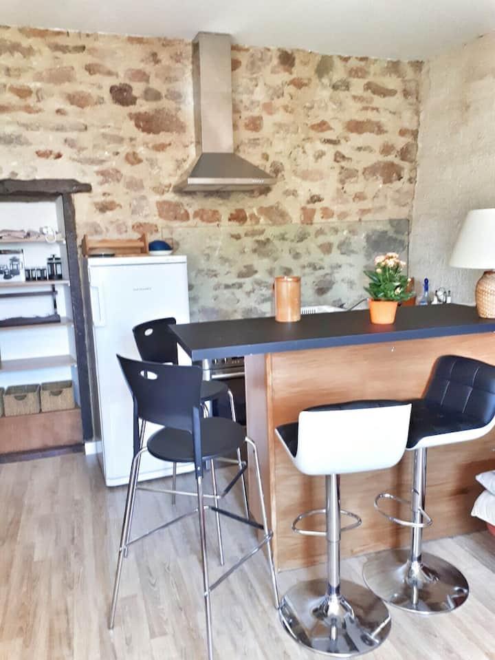 Appartement2 de charme 2 personnes coeur de Rodez