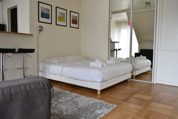 Great Studio with View in Quartier Latin
