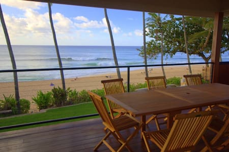 Beachfront at Pipeline | The VANS Pipeline House - Haleiwa - Ev