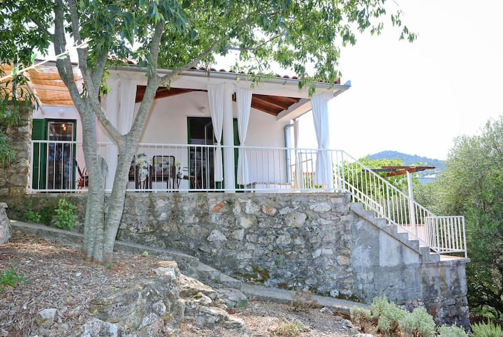 Two bedroom house with terrace and sea view Sali, Dugi otok (K-16128)