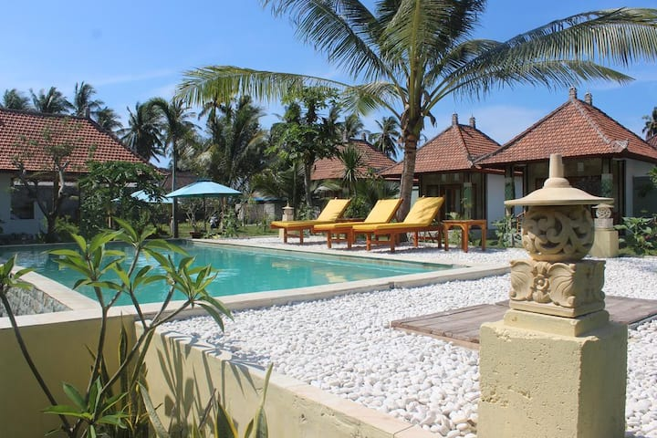 Wani Bali Villa & Resort I with pool