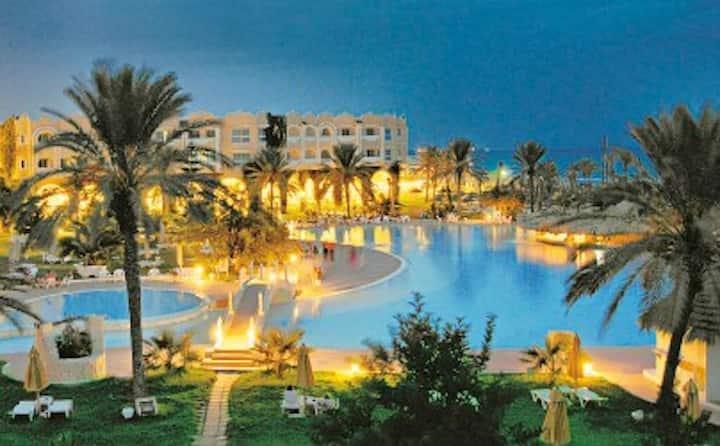 Hôtel Mahdia-Beach.Appartement privé No427