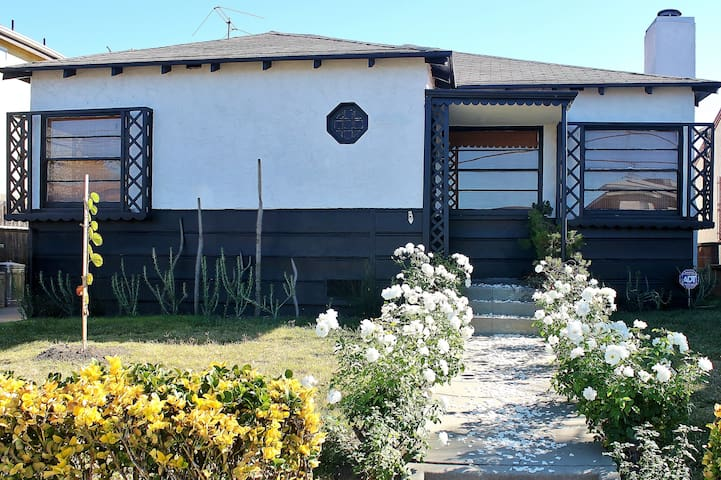 Street view of house.