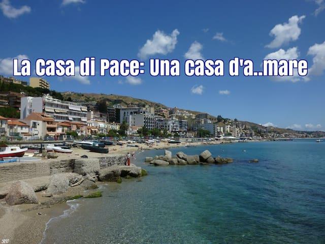 La casa di Pace Una casa d'a..mare - Messina - Casa