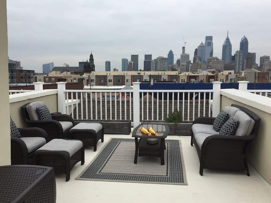 Gorgeous Modern Philly Townhouse 2500 Sq Ft Houses