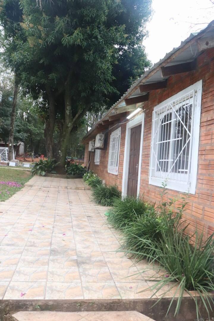 Cabaña Blanca Aurora Padel Club