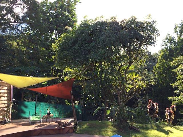 jardin tranquille