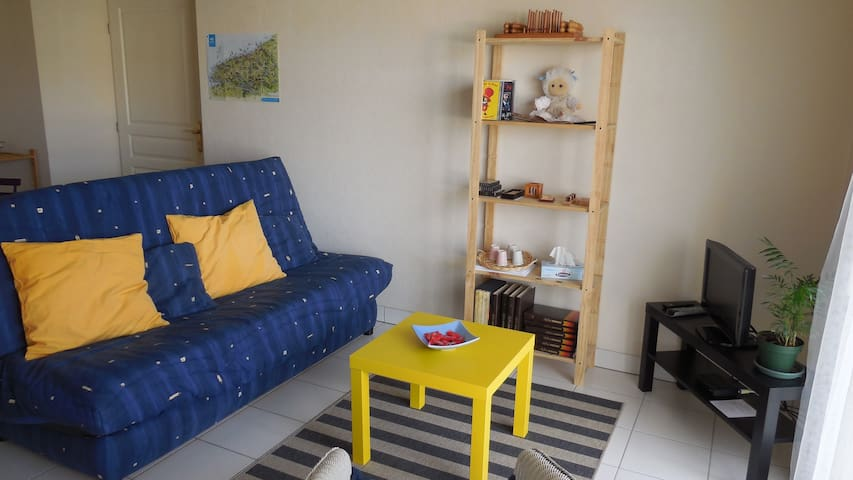 Large F2 near city center + indoor private parking