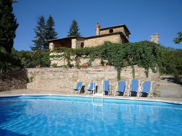 Badia Roccavo House with pool - Pievuccia - House