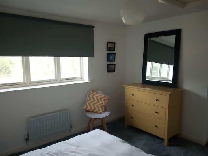 A simple room near the coast