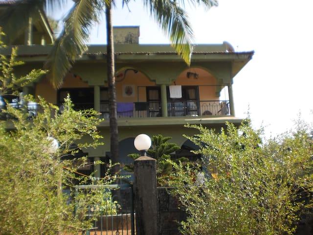 beautiful house on a Goa beach