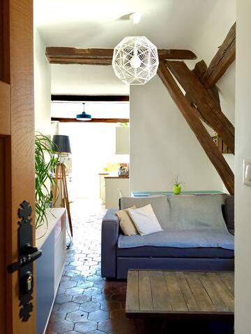 Petit cocon Chartrain lumineux de 46m2