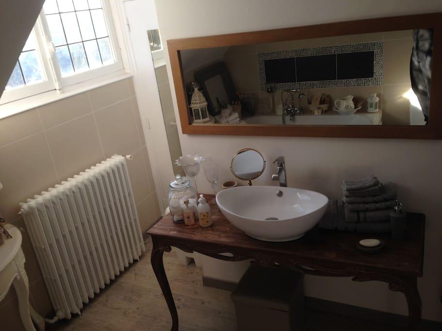 la salle de bain privée