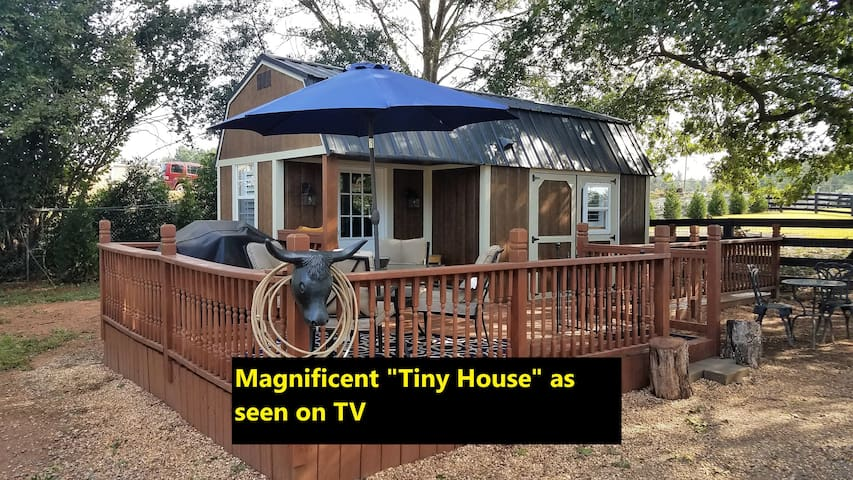 """TINY HOUSE""  ON 4 ACRE HORSE RANCH GREAT LOCATION"
