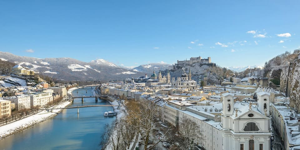 Salzburg's best district: New, Bright & Quiet