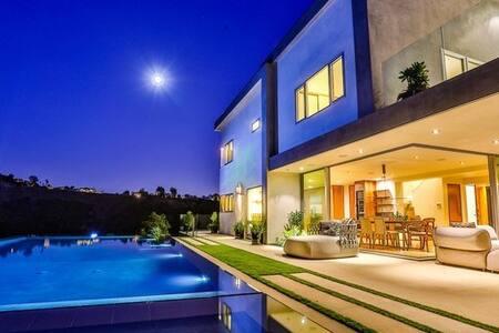 Hermes Mansion - Hollywood Hills - ロサンゼルス - 別荘