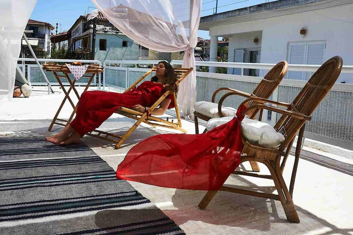 Maisonette Rouge, paradise by the beach