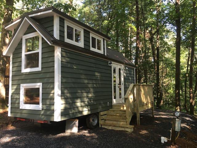 Hemlock Tiny Home at Bleu Canoe Campground