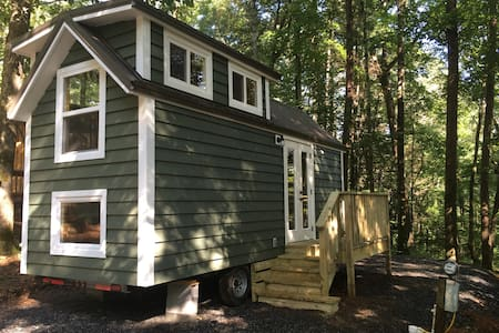 Hemlock Tiny Home at Bleu Canoe Campground