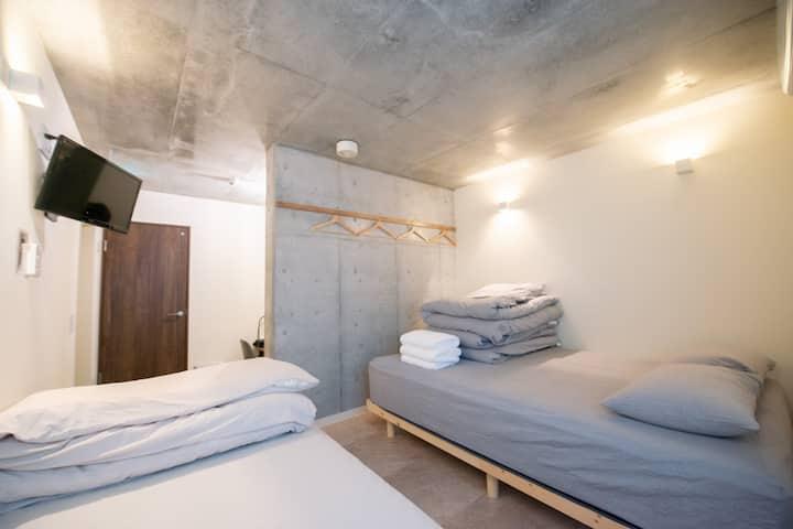 JR Shinokubo 3min walk bmj Apartment motel #202
