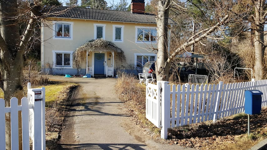 Lovely house north of Stockholm