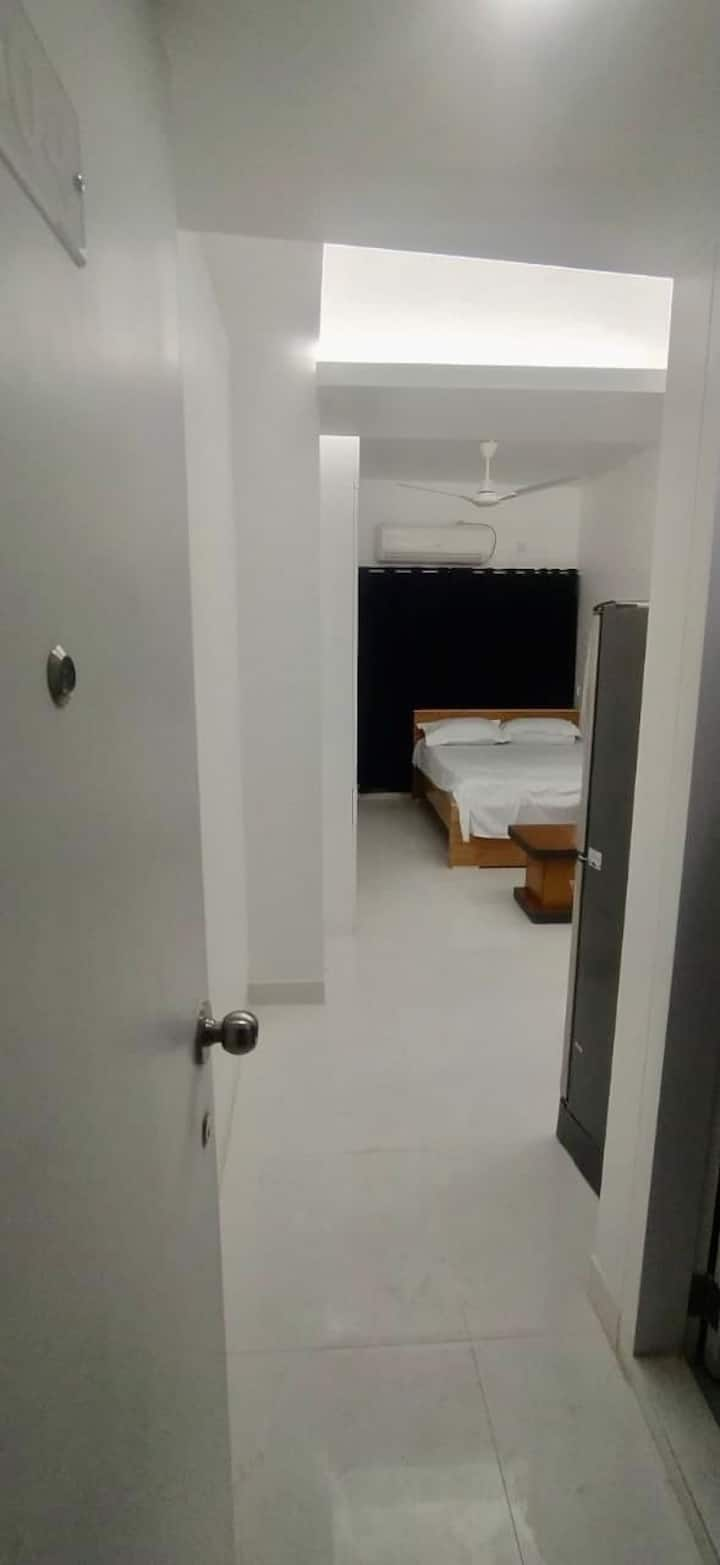 300sft furnished studio apartment