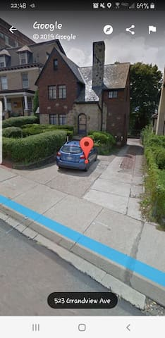 Private Parking on driveway