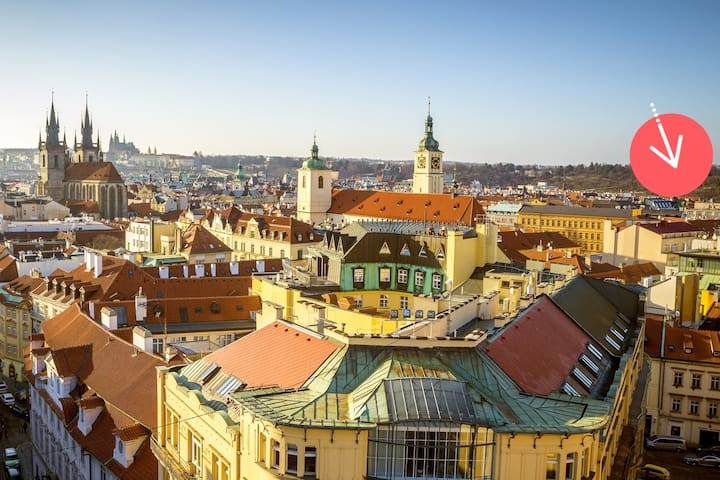 ☆ UNIQUE CZECH place 5 MINS from OLD-TOWN SQUARE - Praga - Casa