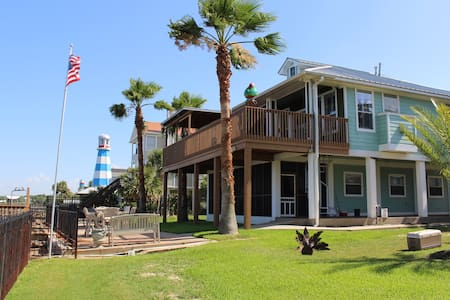 Spectacular Waterfront Home with Private Pier - Kemah - Overig