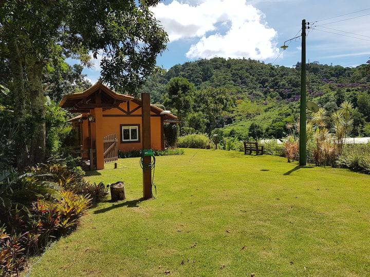 Casa de campo com vista em paraíso ecológico!