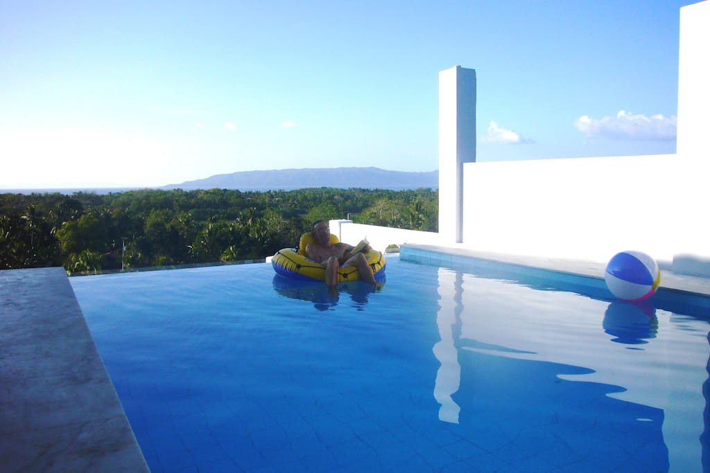 Relax in our infinity pool