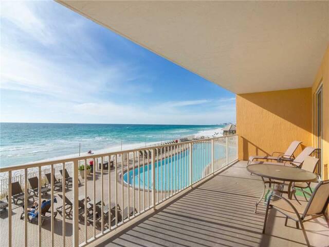 Treasure Island 207, 2 Bedrooms, Sleeps 8, Beachfront, Wi-Fi, Pool