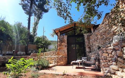 Türkiye'de ilk ve tek! Taş Samanlıktan Tiny House