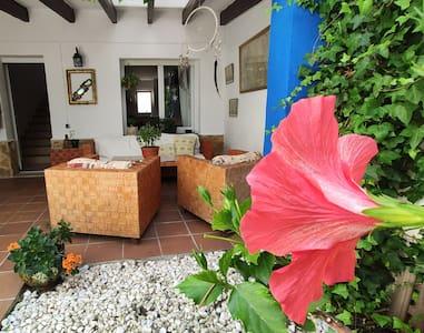 Casa relax junto al mar con jardín