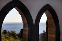 Seaside windows
