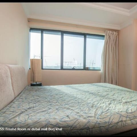 R4304Private Room Near Burj Khalifa -200= Reviews! - Dubai