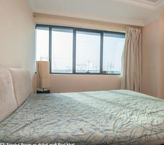 R4304Private Room Near Burj Khalifa -200= Reviews! - Dubai - Lejlighed