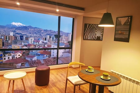 Modern Apartment with Panoramic View in Sopocachi