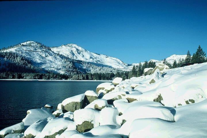 Winter at Donner Lake